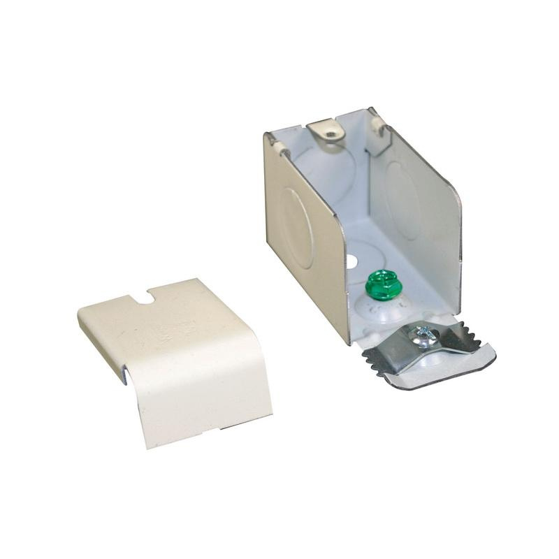 Wiremold 2000 Series Raceway Steel Entrance Fitting 2000 White 5 ea WH2010A2 New