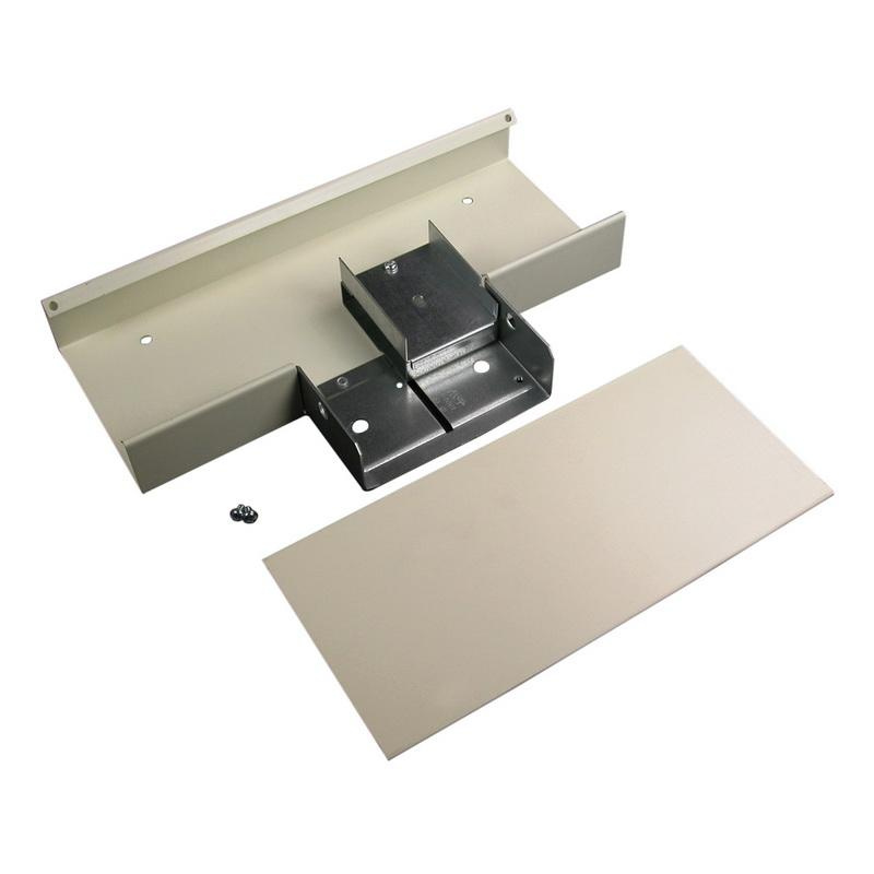 Wiremold V4015DFO Radius Full Capacity Divided Tee Fitting Steel ...
