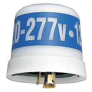 Intermatic EK4536 Solid State Relay Select Grade Locking Type Electronic Photocontrol 208 - 277 Volt AC SPST Translucent NightFox™