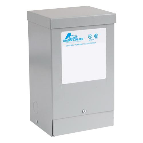 Acme T113074 1 Phase Copper Buck-Boost Transformer 120/240 Volt Primary 16/32 Volt Secondary 1.5 KVA
