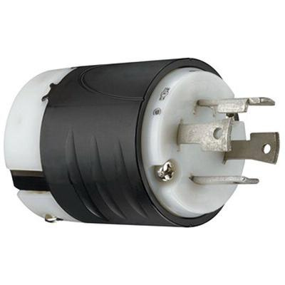 pass \u0026 seymour l1430 p 4 wire 3 pole polarized extra hard use locking plug 125 250 volt 3 phase 30 amp nema l14 30p black white turnlok� L14-30 Plug Wiring Diagram