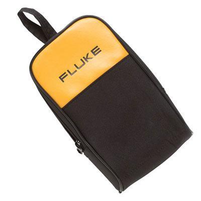 Fluke C25 Vinyl Black Yellow Large DMMs Soft Case 5 Inch x 2.52 Inch x 8.6 Inch Height