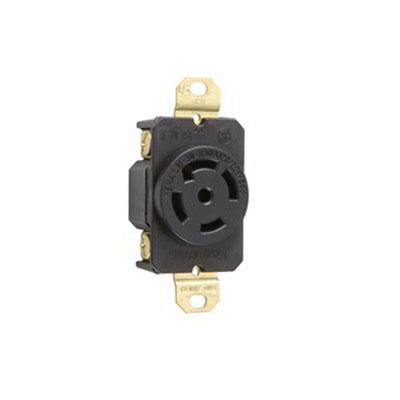 pass seymour l2130 r 5 wire 4 pole locking receptacle. Black Bedroom Furniture Sets. Home Design Ideas