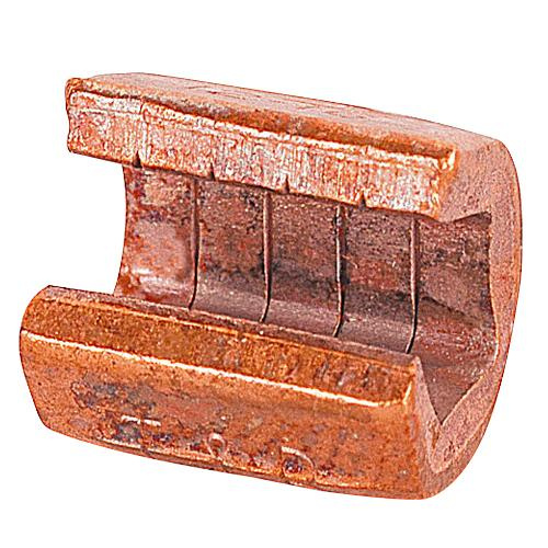 Thomas & Betts 54715 Plain Copper Standard C-Tap Compression Connector 6-8 AWG Run 8-12 AWG Tap Color-Keyed®