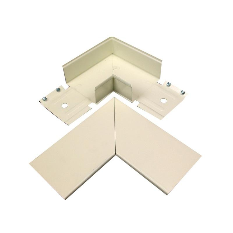 Wiremold V3046BE Duplex Receptacle Cover Steel Ivory For Use With ...