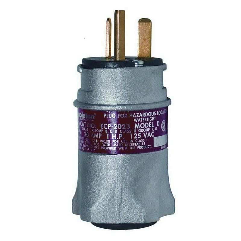 Appleton ECP-2023 2-Wire 3-Pole Watertight Industrial Grade Standard ...