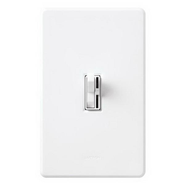 Lutron AYCL-153PH-WH 120 Volt at 60 Hz 1-Pole 3-Way Preset Dimmer White Clamshell Pack Ariadni® CL®