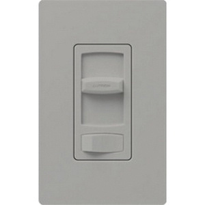 Lutron CTCL-153P-GR 120 Volt at 60 Hz 1-Pole 3-Way Dimmer Gray Skylark Contour® CL®