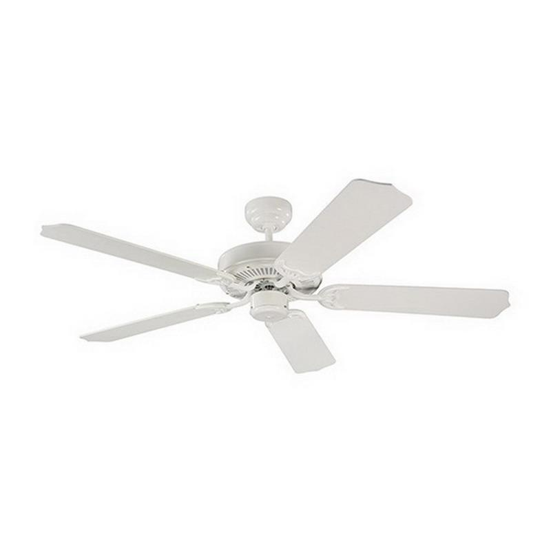 Sea Gull Lighting 15030-15 Quality Max Ceiling Fan 52 Inch 5 Blade 3 Speed White