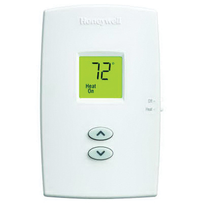 Honeywell th1100dv1000 digital non programmable thermostat 40 to 90 deg f 20 30 volt ac or 750 for Th 450 termostato