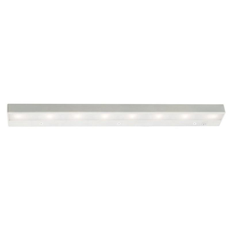 WAC Lighting BA-LED8-27-WT 8-Light BA-LED Series LED Light Bar 10.9 Watt 120 Volt AC 2700K White Responsible Lighting® LEDme®