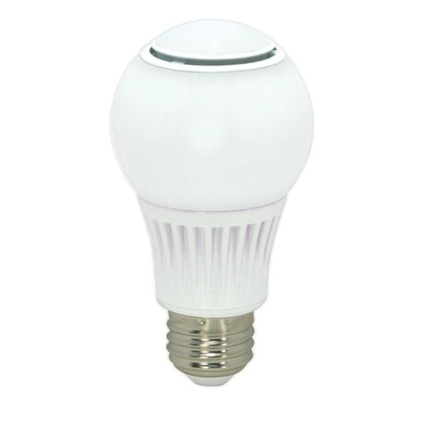 Satco S9037 A19 Omnidirectional LED Lamp 10.5 Watt E26 Medium Base 810 Lumens 80 CRI 2700K Warm White KolourOne OmniX