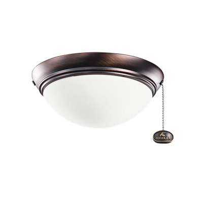 Kichler 380120obb Basic Low Profile Fixture Oil Brushed Bronze