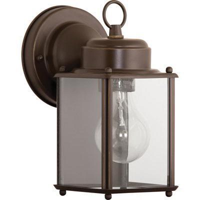 Progress Lighting P5607-20 1-Light Coach Lantern 100 Watt 120 Volt Antique Bronze Painted