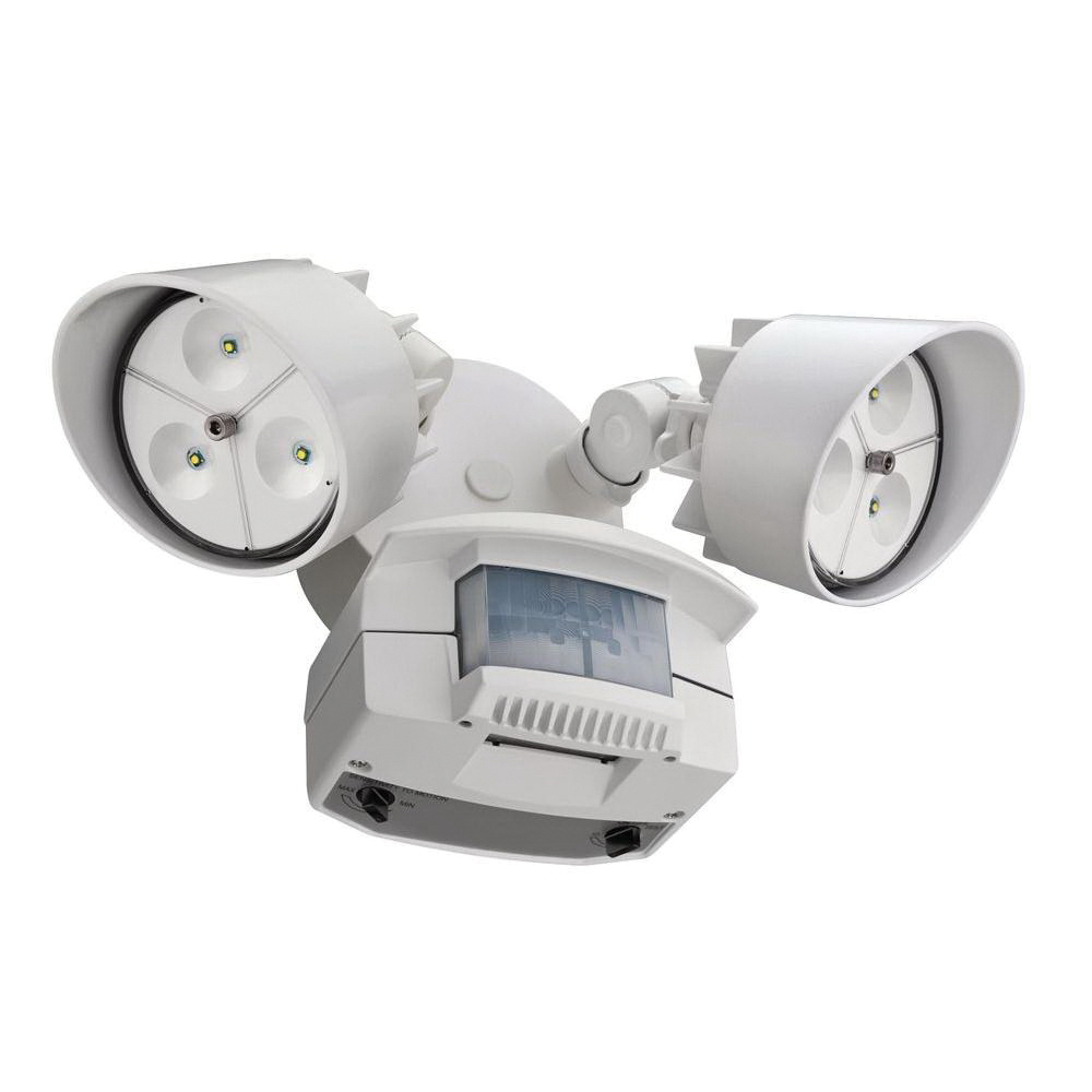 Lithonia Lighting Oflr 6lc 120 Mo Wh M2 Two Headed Led