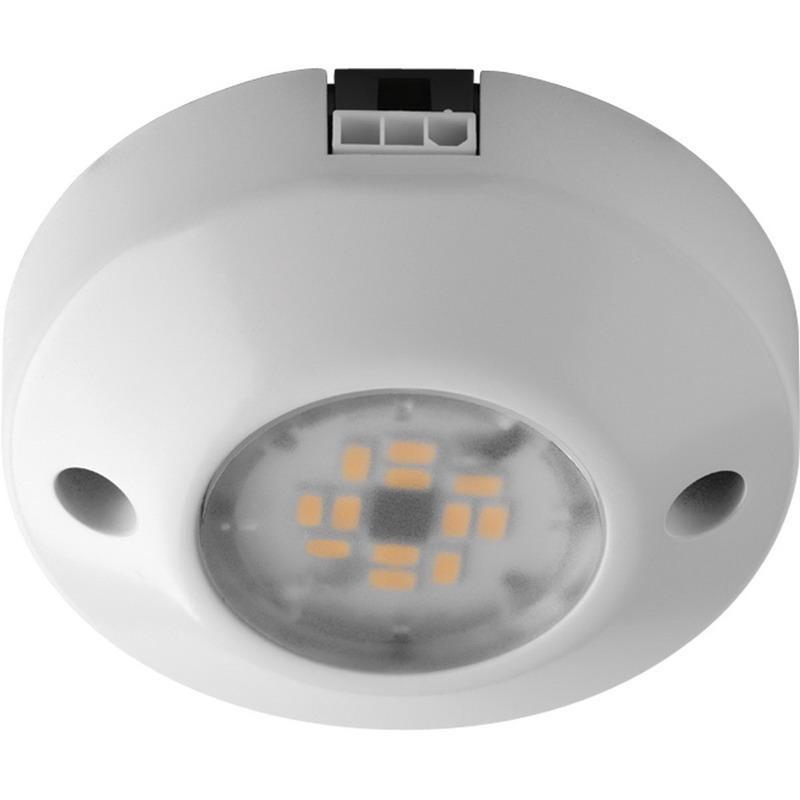 Progress Lighting P7510-30 1-Light Undercabinet Light Fixture 4.4 Watt 120 Volt AC 3000K White Hide-a-Lite III