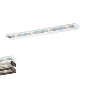 CSL Lighting NCAX-120-32WT 4-Light Hardwire/Portable SpeedLink Linkable Undercabinet Light Fixture 35 Watt 120 Volt 2900K White CounterAttack Xenon