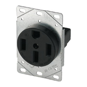 Cooper Wiring Device 5754n Heavyduty Straight Blade Single. Cooper Wiring Device 5754n Heavyduty Straight Blade Single Receptacle 3pole 4. Wiring. 250 Volt Single Outlet Wiring At Scoala.co