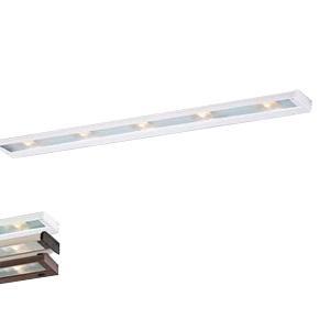 CSL Lighting NCAX-120-40WT 5-Light Hardwire/Portable SpeedLink Linkable Undercabinet Light Fixture 35 Watt 120 Volt 2900K White CounterAttack Xenon