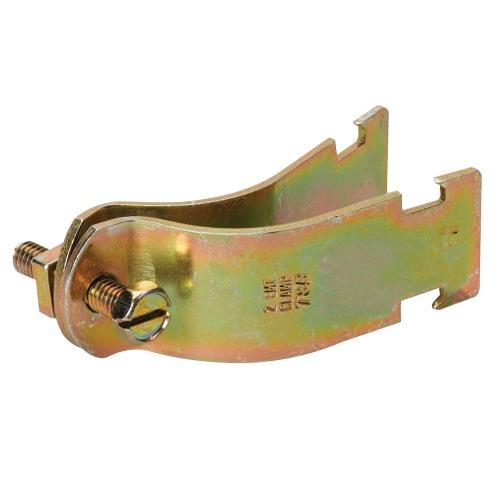 Thomas & Betts C-105-4-HD Hot Dip Galvanized 11 Gauge Steel 2-Piece Pipe Strap 4 Inch Kindorf®