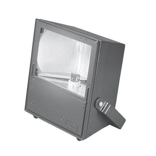 Hubbell Lighting MVM-1000H-268 1-Light Trunnion Mount MV Series Metal Halide Flood Light 1000 Watt 120 - 277 Volt Bronze Powder Paint