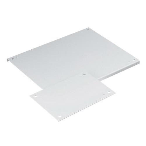 Hoffman A24P24 Polyester Powder Coated Steel Solid Panel 21 Inch x 21 Inch x 0.75 Inch White