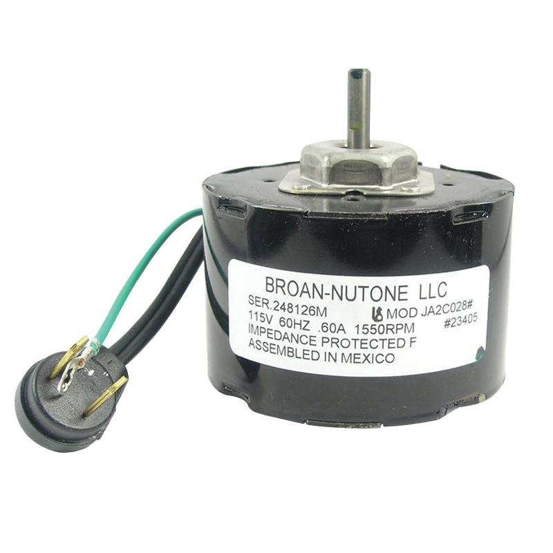 Broan Replacement Bathroom Exhaust Fans: Nutone S23405SER Replacement Ventilation Fan Motor Broan
