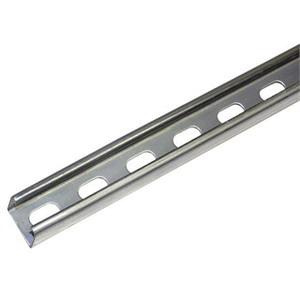 Unistrut P1000T-10SS Stainless Steel P1000 Series Deep Single Slotted  Channel With Elongated Hole 10-ft x 1-5/8-Inch x 1-5/8-Inch
