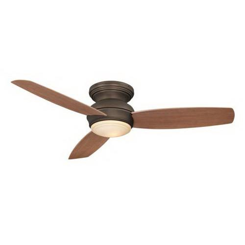 Minka-Aire F594-ORB Traditional Concept Ceiling Fan With Light 52 Inch 3 Blade 3 Speed Oil Rubbed Bronze