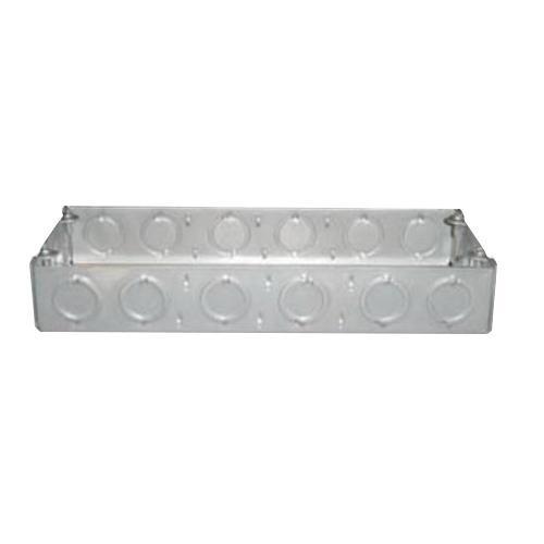 Nav-Tech 4G-15/8 4-Gang Gang Box 10-5/8 Inch x 1-5/8 Inch 71 Cubic-Inch