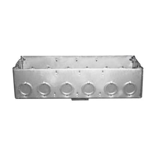 Nav-Tech 4G-21/2 4-Gang Gang Box 10-5/8 Inch x 2-1/2 Inch 111.8 Cubic-Inch