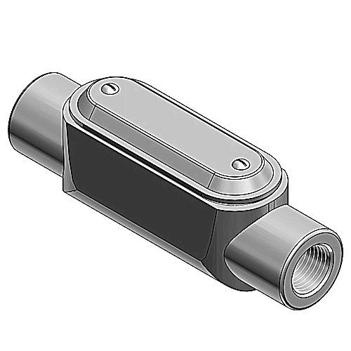 Thomas & Betts C37-G Gray Iron Type C Conduit Body 1 Inch Ocal®