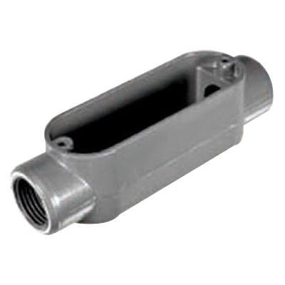Topaz Electric C1 Die Cast Copper Free Aluminum Type C Conduit Body 1/2-Inch