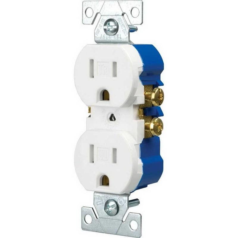 cooper wiring device tr270w residential grade tamper resistant rh usesi com leviton residential wiring devices residential electrical wiring devices