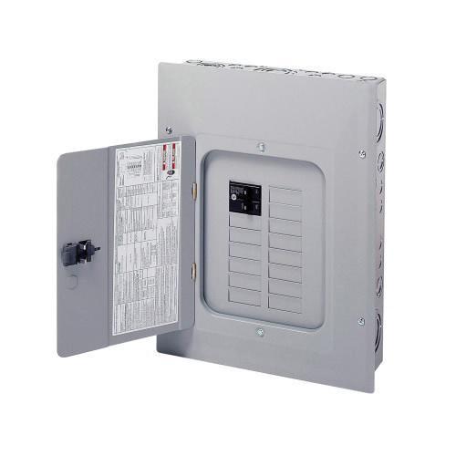 Eaton BR1220B100 1-Phase 3 Wire Main Circuit Breaker Load Center 20 Circuits 120/240 Volt AC 100 Amp NEMA 1
