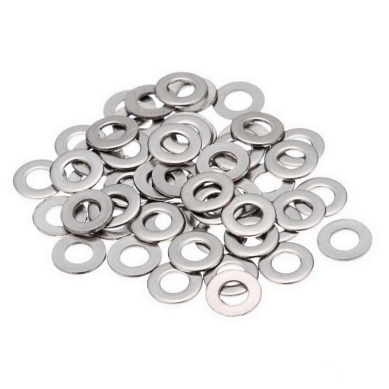 Star 1/2FLTWSS316 316 Stainless Steel Flat Washer 1/2 Inch