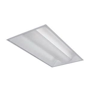 Lightolier CFS2GPF232UNVHI Direct/Indirect Standard and Slot Grid Air Static Recessed Fixture 120 - 277 Volt (2) 32 Watt T8 Fluorescent Baked White Polyester Enamel Coffaire