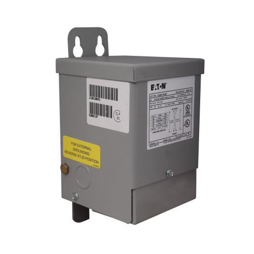 Eaton S10N04P51P 1 Phase Aluminum Encapsulated General Purpose Buck Boost Transformer 120/240 Volt Primary 12/24 Volt Secondary 0.5 KVA