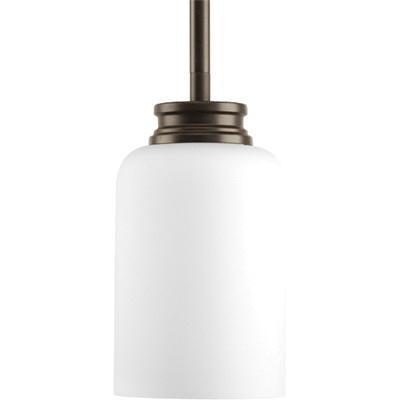 Progress Lighting P5114-20 1-Light Ceiling/Stem Mount Pendant Fixture 100 Watt 120 Volt 4 Inch Antique Bronze Orbitz