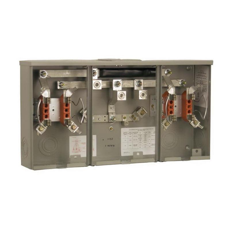 Induction Amp Meter Pick Up : Milbank u kk k blg phase ringless meter socket