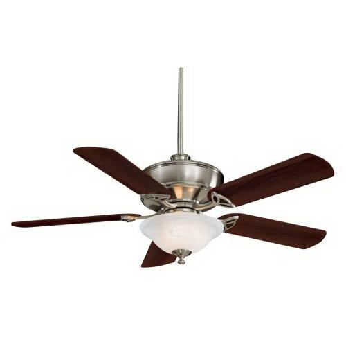 Minka-Aire F620-BN Bolo Ceiling Fan With Light 52 Inch 5 Blade 3 Speed Brushed Nickel