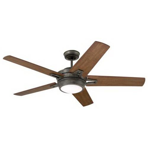 Emerson CF4900VS Southtowne Ceiling Fan With Light 54 Inch 5 Blade 6 Speed Vintage Steel