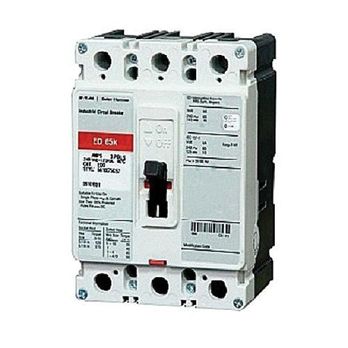 Eaton ED3100L Bolt-On Mount Molded Case Circuit Breaker 3-Pole 100 Amp 240 Volt AC 125 Volt DC