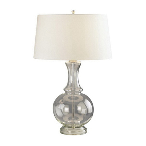 Robert Abbey 3323 Table Lamp 150 Watt Clear Glass With Polished