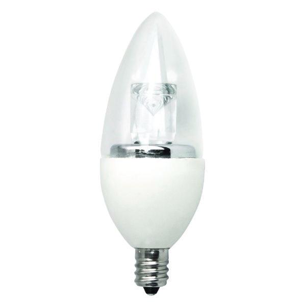 Dimmable B11 LED Decorative Light Bulb TCP Lighting LED4E12B1127K