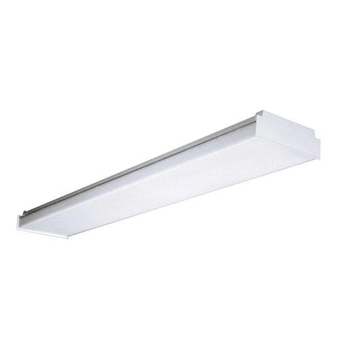 Columbia Lighting LAW4-35ML-EDU 4-Light Surface Mount Low Profile LED Wrap Around Fixture 48 Watt 120 - 277 Volt >80 CRI 3500K 4700 Lumens LED High Reflectance Baked Enamel