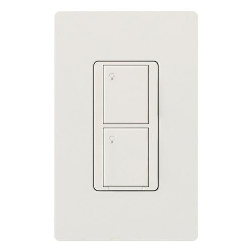 Lutron Wireless Switch >> Lutron Pd 5ws Dv Wh 120 277 Volt 5 Amp 1 Pole 2 Wire Wireless In Wall Switch White Caseta