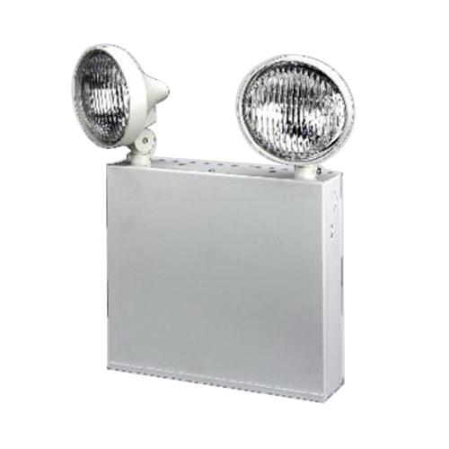 Encore Lighting 6eb272ny Universal J Box Mount 6eb Series 2 Head Emergency Light 12 Watt 120 277 Volt Ac White