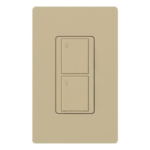 Lutron Wireless Switch >> Lutron Pd 5ws Dv Iv 120 277 Volt 5 Amp 1 Pole 2 Wire Wireless In Wall Switch Ivory Caseta