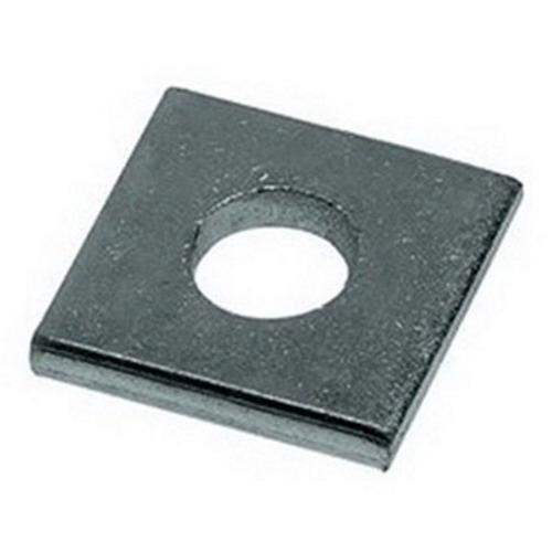Unistrut P1064EG Electrogalvanized Steel 1 Hole Square Washer 1/2 Inch
